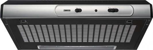 Вытяжка подвесная Zanussi ZHT630X серебристый zanussi вытяжка zanussi zht 530 w