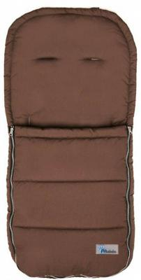 Демисезонный конверт 90x45см Altabebe AL2200 (brown) зимний конверт altabebe lambskin bugaboo footmuff mt2280 lp black 65