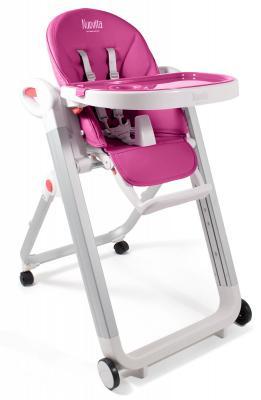 Стульчик для кормления Nuovita Futuro Bianco (magenta) стульчик для кормления nuovita futuro bianco magenta пурпурный
