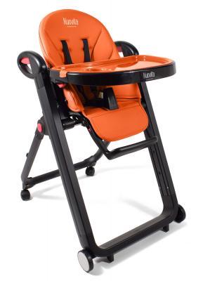 Купить Стульчик для кормления Nuovita Futuro Nero (arancione), оранжевый, пластик, Стульчики для кормления