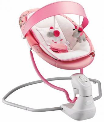 Электрокачели Nuovita Attento (rosa)