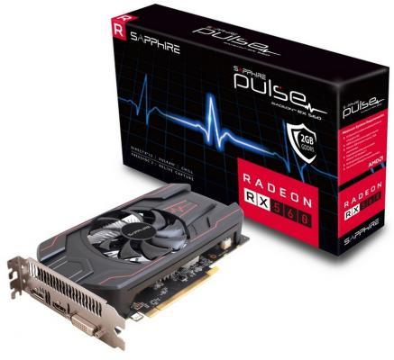 Видеокарта 2048Mb Sapphire Radeon RX 560 Pulse PCI-E DVI HDMI DP 11267-13-20G Retail