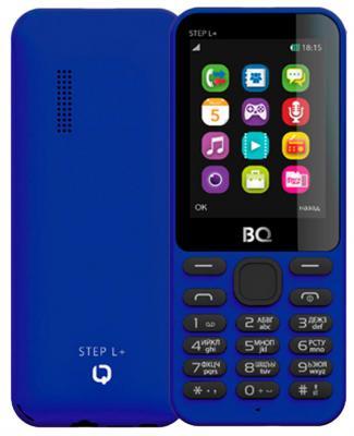 Мобильный телефон BQ BQM-2431 Step L+ темно-синий мобильный телефон bq m 1565 hong kong silver