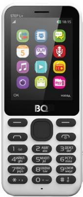 """Мобильный телефон BQ BQM-2431 Step L+ белый 2.4"""" 32 Мб"""