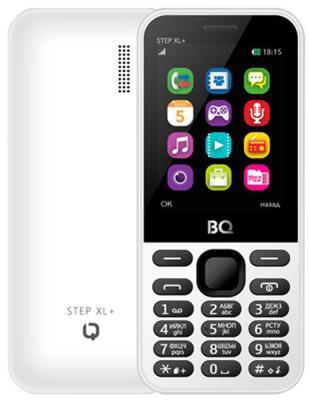 Мобильный телефон BQ BQM-1831 Step + белый мобильный телефон bq mobile bqm 1831 step white