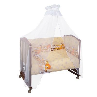 Бампер в кроватку Сонный Гномик Африка (бежевый)