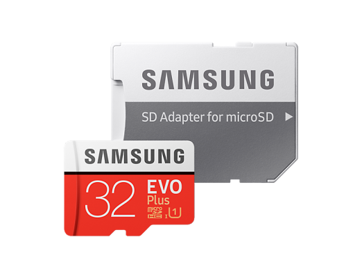 Карта памяти Micro SDHC 32Gb Class 10 Samsung MB-MC32GA/RU + SD adapter цена 2017