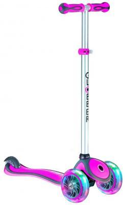 Самокат Y-SCOO GLOBBER PRIMO PLUS 442-114 (6653) 5/3 розовый размер 5 114 3 литые диски купить саратов