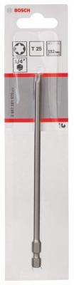 Бита Bosch TORX T25 XH 152мм 2607001670 бита torx t25 350 мм стандарт