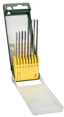 Лобзиковая пилка Bosch SET U-ХВ 8шт 2607019459