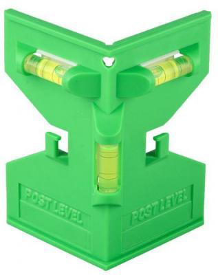 Уровень-угольник Stayer Master POSTLevel пластмассовый с магнитом 3 ампулы 3456_z01