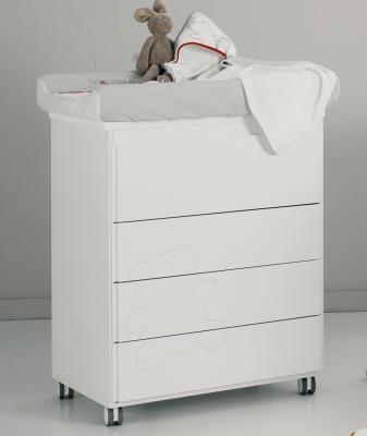 Комод пеленальный Micuna Neus (white) комод пеленальный малыш 14 мдф