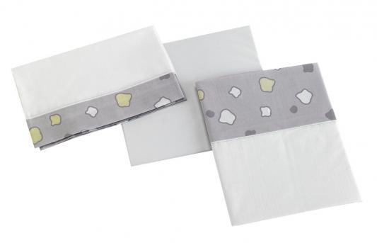 Постельное белье 120х60см 3 предмета Micuna Dinus Gris TX-821 (grey) 3 gris lunatique