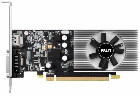 Видеокарта Palit GeForce GT 1030 GeForce GT1030 PCI-E 2048Mb 64 Bit OEM видеокарта 2048mb palit geforce gtx750 pci e stormx oc 128bit ddr5 dvi hdmi crt hdcp ne5x750thd41 2065f oem