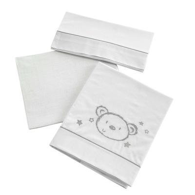 Постельное белье 120х60см 3 предмета Micuna Sweet Bear TX-821 постельное белье forest bow wow 3 предмета
