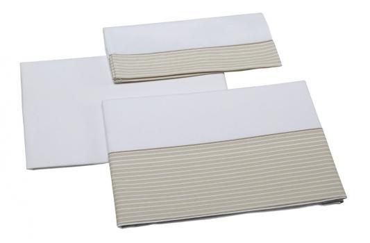 Постельное белье 120х60см 3 предмета Micuna Valeria TX-821 (beige) колыбель micuna микуна mini fresh с текстилем мо 1560 white beige