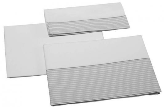 Постельное белье 140х70см 3 предмета Micuna Valeria TX-823 (grey)