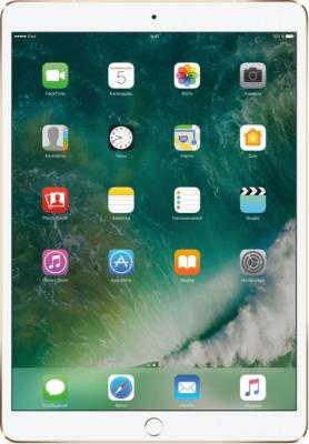 Планшет Apple iPad Pro 10.5 256Gb золотистый Wi-Fi Bluetooth LTE 3G iOS MPHJ2RU/A планшет apple ipad pro mphj2ru a apple a10x fusion 2 3 4gb 256gb 10 5 ips wi fi bt 12 7mpx ios gold