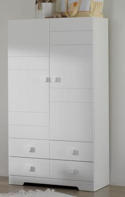 Шкаф двустворчатый Micuna А-1412 (white)