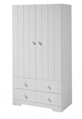Шкаф двустворчатый Micuna А-1414 (white)