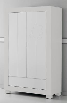 Шкаф двустворчатый Micuna Neus (white)
