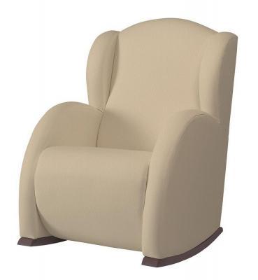 Кресло-качалка Micuna Wing Flor (chocolate/beige искусственная кожа)