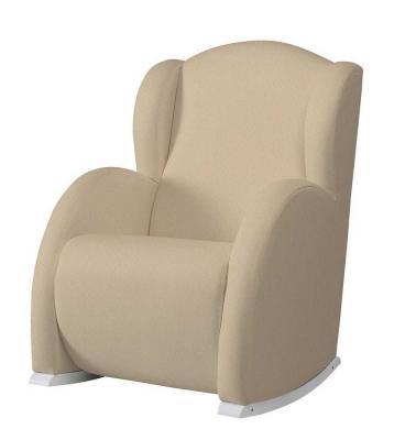 Кресло-качалка Micuna Wing Flor (white/honeycomb beige0