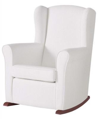 Кресло-качалка Micuna Wing Nanny (chocolate/white искусственная кожа)