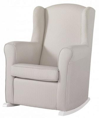 Кресло-качалка Micuna Wing Nanny (white/beige stripes)
