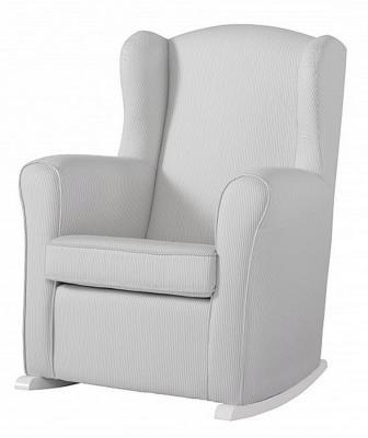 Кресло-качалка Micuna Wing Nanny (white/grey stripes)