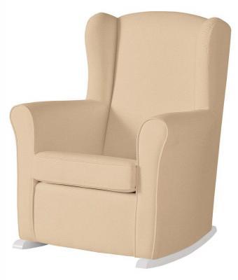 Кресло-качалка Micuna Wing Nanny (white/honeycomb beige) колыбель micuna микуна mini fresh с текстилем мо 1560 white beige