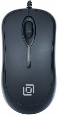 Мышь проводная Oklick 285M чёрный USB