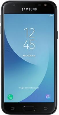 Смартфон Samsung Galaxy J3 2017 черный 5 16 Гб LTE Wi-Fi GPS 3G SM-J330FZKDSER мобильный телефон samsung sii s2 i9100 android 8 0mp 4 3 16 gb wi fi gps