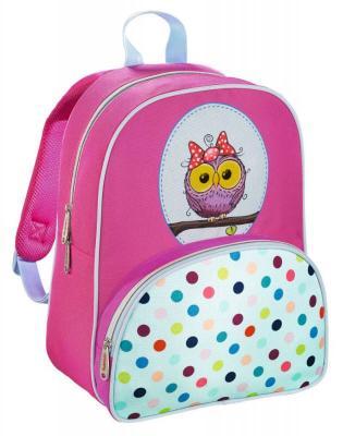 Дошкольный рюкзак ортопедический HAMA Sweet Owl 18 л голубой розовый 00139105 ранец hama hama ранец жесткокаркасный sweet owl