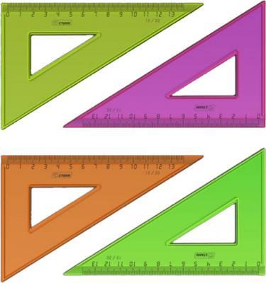 Треугольник СТАММ ТК33 13 см пластик в ассортименте