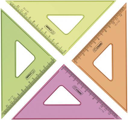 Треугольник СТАММ ТК44 12 см пластик в ассортименте