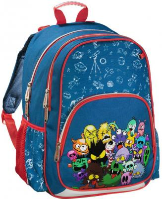 Рюкзак HAMA Monsters 14 л синий красный 00139085