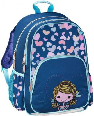 Рюкзак HAMA Lovely Girl 14 л синий голубой 00139091 рюкзак школьный hama pretty girl