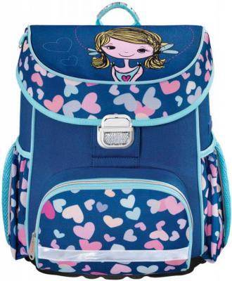 Ранец ортопедический HAMA Lovely Girl 18 л голубой синий 00139078
