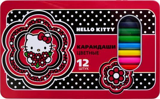 Набор цветных карандашей Action! Hello Kitty 12 шт HKO-ACP305-12 набор цветных карандашей action hello kitty 18 шт