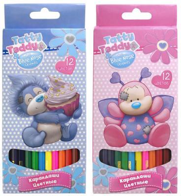 Набор цветных карандашей Action! Teddy and Blue Nose Friends 12 шт в ассортименте скейтборд action 31 quot х8 quot pws 620
