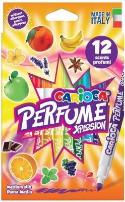 Набор фломастеров CARIOCA Perfume 4.7 мм 12 шт разноцветный 42672/12 набор фломастеров universal carioca mini jumbo 6 шт разноцветный 40106 6