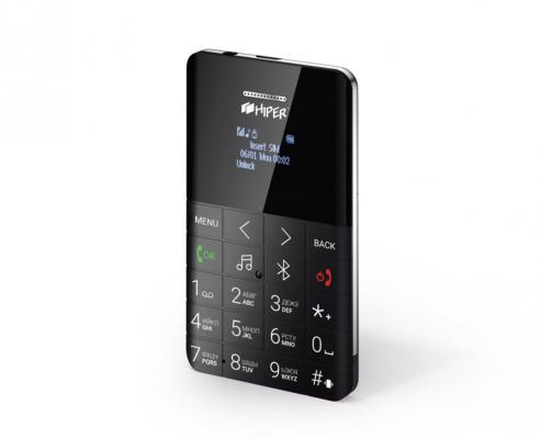 """Мобильный телефон HIPER MP-01BLK черный 0,96"""" 32 Мб цена и фото"""