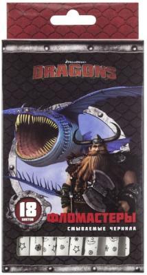 Набор фломастеров Action! Dragons 18 шт разноцветный DR-AWP206-18 в ассортименте action цветные карандаши dragons 18 цветов dr acp205 18 голубой