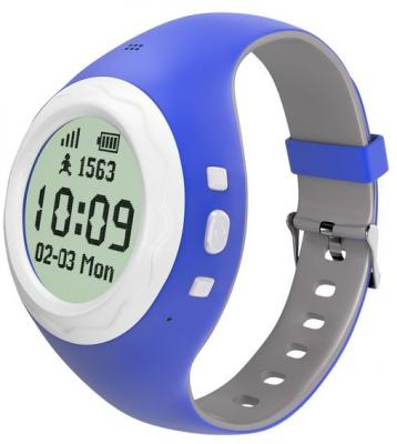 Фото - Смарт-часы Hiper Babyguard синий BG-01BLU внешний аккумулятор для портативных устройств hiper circle 500 blue circle500blue