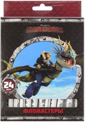 цена на Набор фломастеров Action! Dragons 24 шт разноцветный DR-AWP206-24 в ассортименте