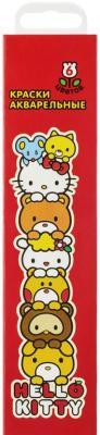 Акварель Action! Hello Kitty 6 цветов HKO-AWP-6/2 action краски акварельные hello kitty 6 цветов