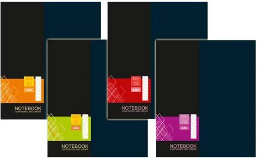 Тетрадь офисная Index IN0201-A5120 120 листов клетка в ассортименте блокнот index in0101 a460 a4 60 листов в ассортименте