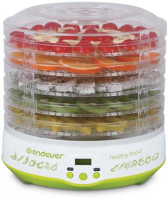 Сушилка для овощей и фруктов ENDEVER Skyline FD-59 белый салатовый