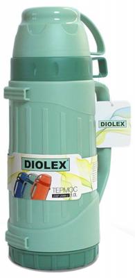 Термос Diolex DXP-1000-1-G 1л зеленый термос diolex dxp 1000 1 g 1л зеленый